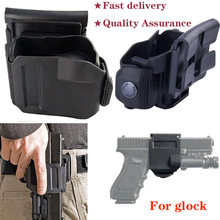 Tactical 360 Rotating Glock Clip Right Hand MOLLE Holster for Glock 17 19 22 23