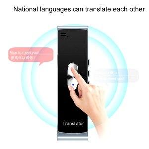 Image 3 - Kebidumei נייד חכם מיידי קול מתורגמן T8S PK T8 רב שפה הדיבור אינטראקטיבית מתורגמן Bluetooth בזמן אמת