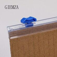 GIEMZA тапочки пластиковые обёрточная бумага диспенсеры слайсер пленка резак нож 1 шт. Портативный двухстороннее лезвие рулон бумаги резка без нагрева