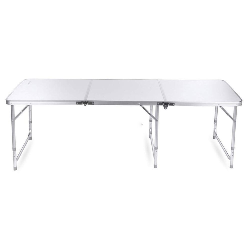 NEW High Quality 180 x 60 x 70cm Home Use Aluminum Alloy Folding Table White For Home Kitchen Aluminium Alloy Folding Table