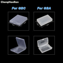 ChengHaoRan Game Cartridge Plastic Cases Game Cards Storage Box For GameBoy Pocket For GBA GBC GBP Protector Holder Cover Shell