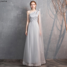 Abito damigella new lace star 4 style A Line grey bridesmaid dress