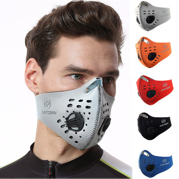 #H30 Cycling Face Mask PM 2.5 Anti-Pollution Cycling Mask Activated Carbon Breathing Valve Bike Face mask Drop Shipping