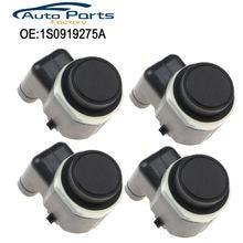 Capteur de stationnement PDC, pour AUDI A1 A3 A4 A5 A6, vw Passat Tiguan Touran Polo Golf,SEAT SKODA Octavia, 4 pièces