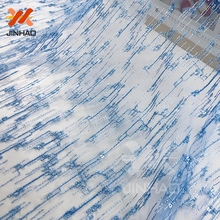 Textiles Elegant 3d Beads Lace Fabric Design Embroidery Wedding Dress