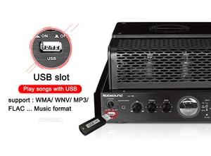 Image 2 - Nobsound MS 30D MKII Bluetooth Amplifier tube Amplifier support Bluetooth USB optical Coaxial Bass DVD CD input Amplifier