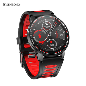 Image 5 - SENBONO IP68 עמיד למים גברים Smarwatch Bluetooth 5.0 כושר גשש שעון ספורט נשים שעון חכם עבור IOS אנדרואיד