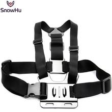 цена на Gopro Accessories Adjustable Chest Strap Belt Body Tripod Harness Mount For Gopro Hero 5 4 3+2 1 SJCAM Xiaomi Yi Camera GP27