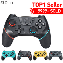 2020 Bluetooth Pro Gamepad for N Switch NS Switch NS Switch Console Wireless Gamepad Video Game USB Joystick Controller Control