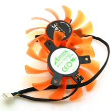 Ga81s2u-pftb 12v 0.38a 75mm 40*40*40mm 4pin ventilador vga para zotac gtx660-fã da placa gráfica 2gd5