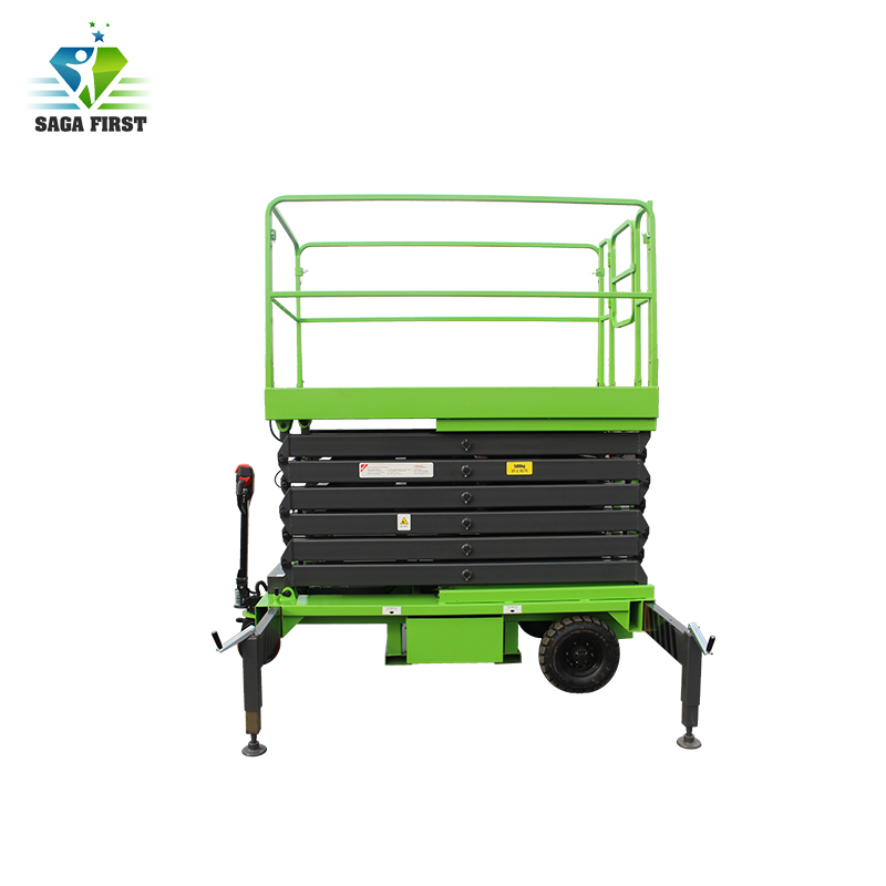 China Supplier 4m To 18m Hydraulic Mobile Scissor Lift With CE