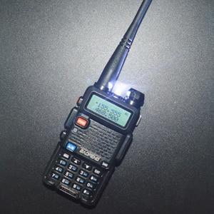 Image 5 - 2 pçs/set Pofung UV 5R BaoFeng Walkie Talkie Dual Band Rádio em Dois Sentidos Portátil Presunto Rádio Transceptor banda VHF/UHF Rádio Dual UV5R