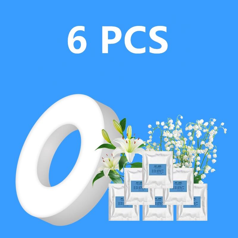 6 PCS Solid Bulldog Car Air Freshener Perfume Fragrance Diffuser Refill Auto Vents Scent Odor Freshener Interior Accessories
