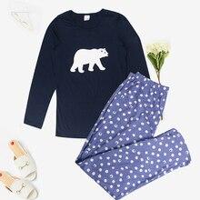 """Bộ Đồ Ngủ Nữ Dài Tay Pyjama Set Nữ Bộ Đồ Ngủ Đồ Ngủ Nữ Hoạt Hình Bộ Đồ Ngủ Nữ Dễ Thương Pijama Mujer """"Pyjama"""