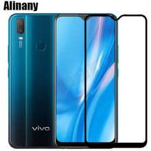 Vivo y11 y12 2019 vidro temperado vivo y11 capa completa protetor de tela vivo y11 y 11 vivoy11 y12 vivoy12 galss película protetora