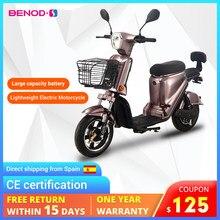 Moto électrique légère CE Cert, moteur électrique rapide, haute puissance, cyclomoteur, ue