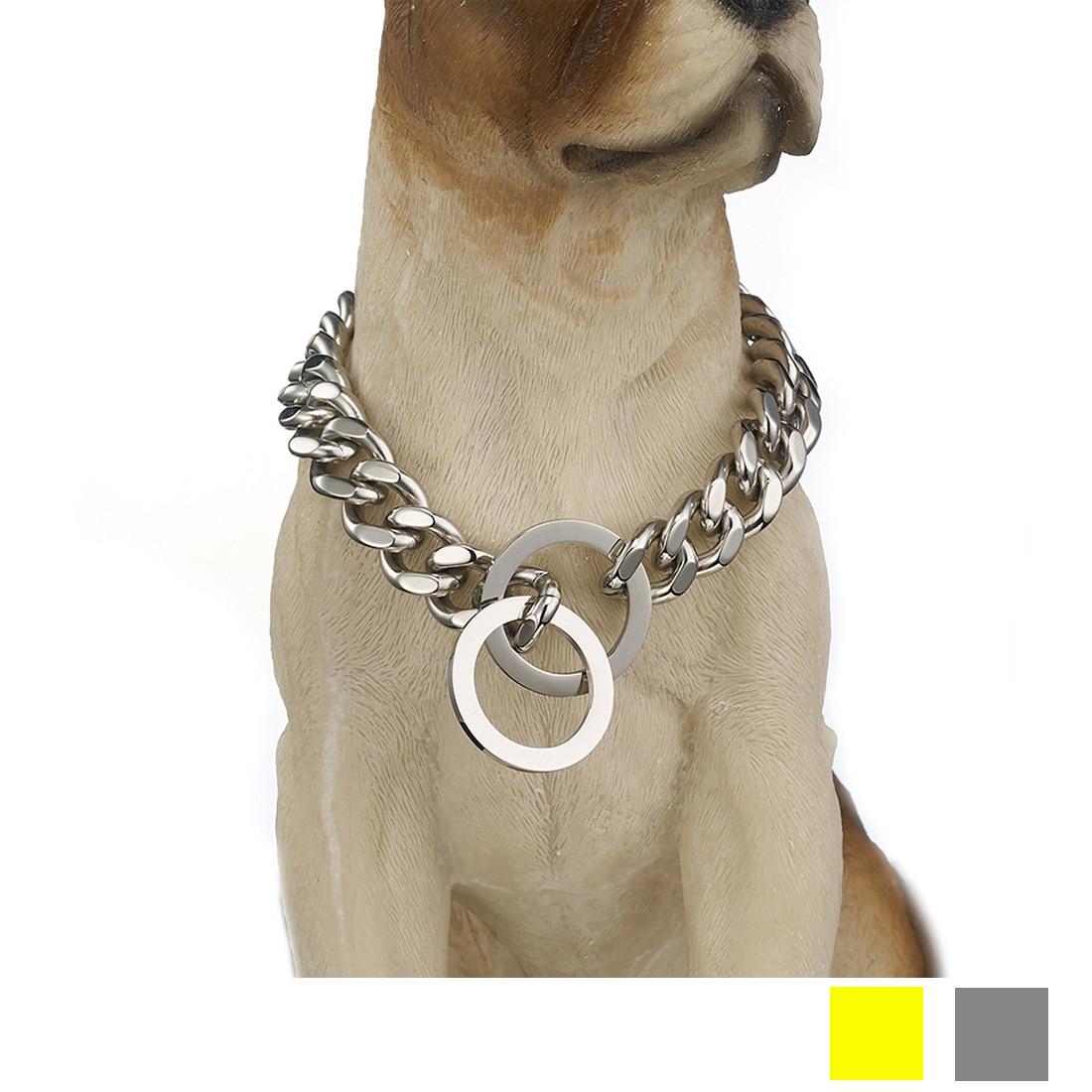 12/15 Size Pet Supplies Gold Dog Pendant Sub-Denim Pendant P Pendant Stainless Steel Metal Neck Ring Supply Of Goods
