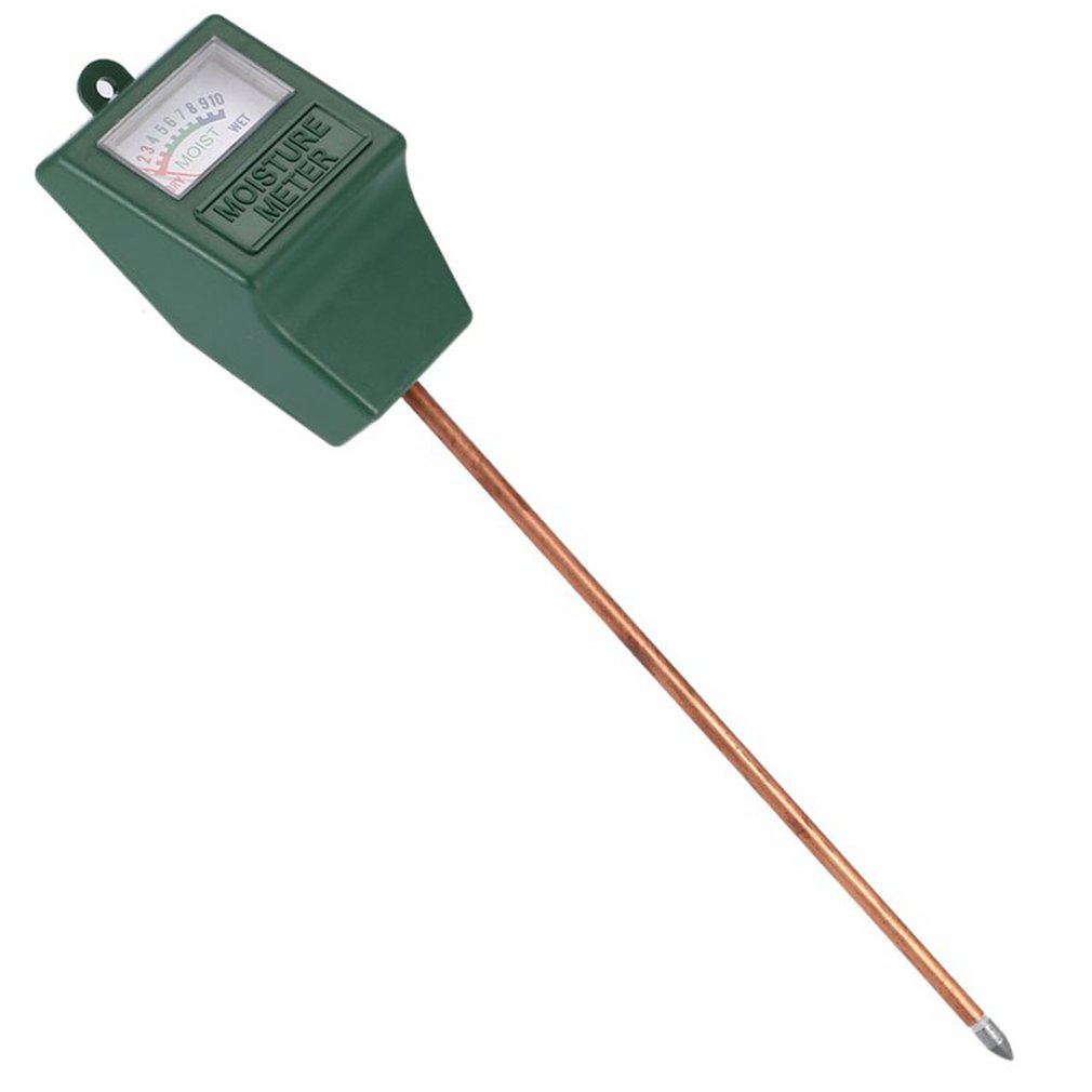 Higrômetro de Solo para Agricultura e Flores Medidor de Umidade do Solo Detector de Solo Testador de ph para Plantas e Flores Agulha Única Higrômetro