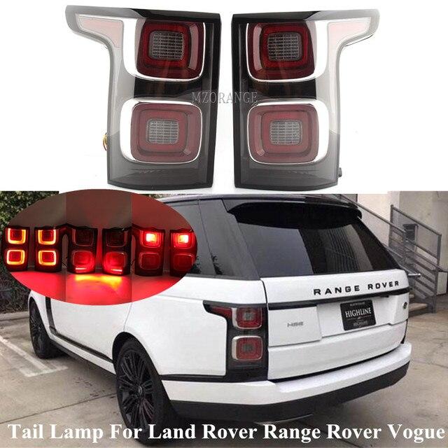 ไฟท้ายLEDไฟท้ายสำหรับLand Rover Range Rover Vogue 14 17ปีชุดเปลี่ยน2018ปีไฟเตือนไฟท้ายหลอดไฟ