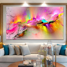 Современное облако, холст, красочный абстрактный принт, картина маслом, холст, принты для гостиной, домашний декор, настенные картины