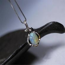 Лидер продаж элегантное красивое белое ожерелье с кулоном в