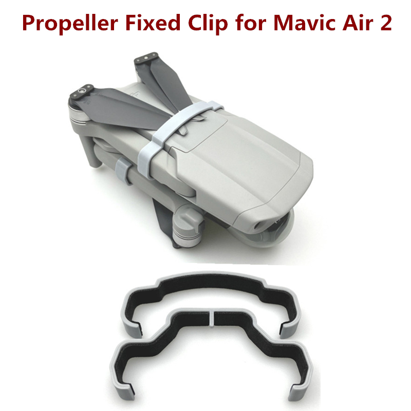 2pcs 3D Printed Drone Propeller Fixator Blade Protection Holder Arm Fixing Paddle Clip for DJI Mavic