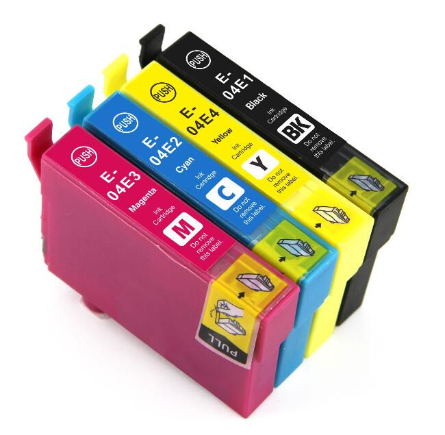 T04E Compatible Ink Cartridge For Epson Workforce WF-2831 WF-2851 Expression Home XP-2101 XP-4101 Printers