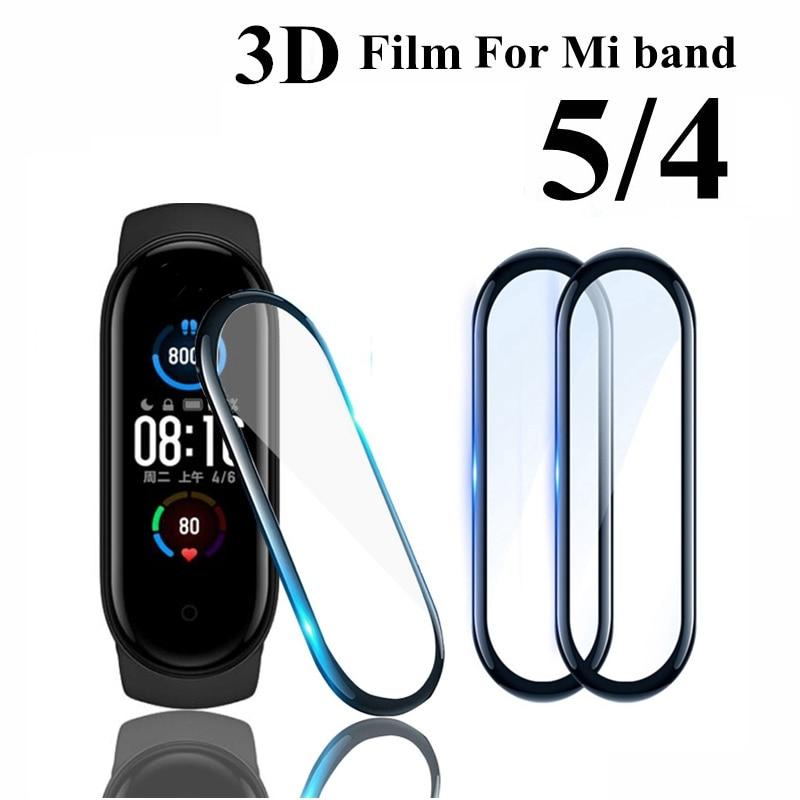 3D стекло для Xiaomi mi band 5 4 мягкая защитная пленка для экрана Xiami Mi band4 band5 Miband5 для Xiomi mi band 5 пленка