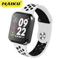 NAIKU F9 Sport Smart Watch IP67 Waterproof Heart rate Full Touch Screen Smartwatch for Apple Android Watch PK F8 w34 iwo 8