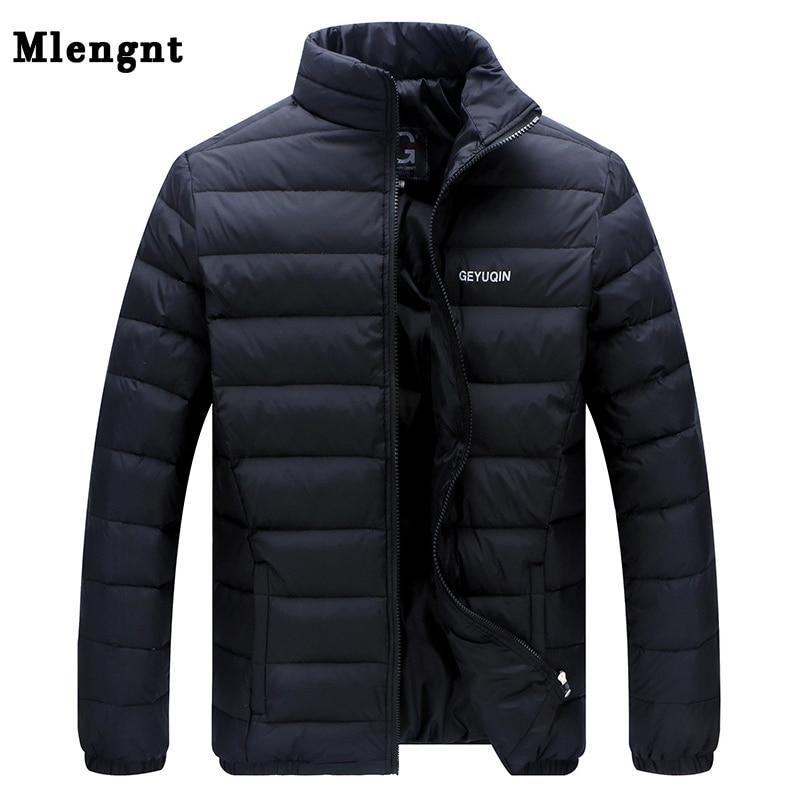 Big Size 2019 White Duck Down Men's Winter Jacket Ultralight Down Jacket Casual Outerwear Snow Warm Fur Collar Brand Coat Parkas