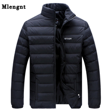 Big Size 2019 White Duck Down Men's Winter Jacket Ultralight Down