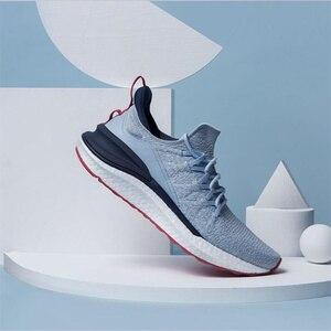 Image 4 - حذاء شاومي مي جيا الرياضي الجديد لعام 2020 حذاء رياضة 4 للجري والمشي في الهواء الطلق خفيف الوزن قابل للتهوية 4D منسوج علوي قابل للغسل