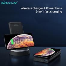 Bank mocy NILLKIN 10000mAh Xiaomi powerbank przenośny zewnętrzny Bank baterii PD3.0 szybkie ładowanie z USB typ C dla Mi9 iPhone 11