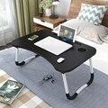 Ordinateur portable bureau maison ordinateur portable pliable Table ordinateur portable étude support d'ordinateur portable pour lit et canapé Table d'ordinateur avec pieds pliants
