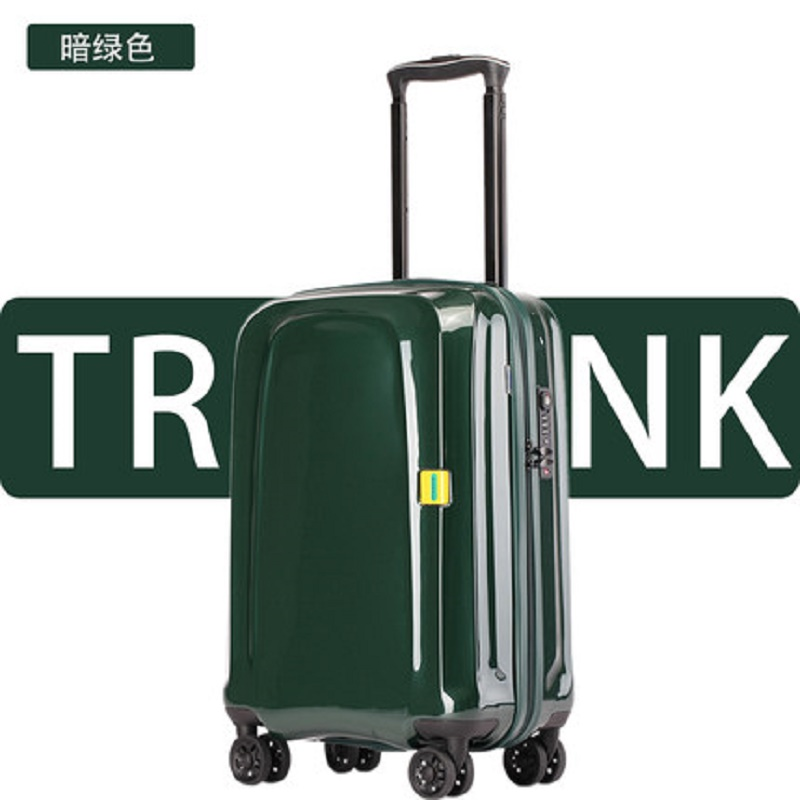 Perfect Craft Luxury Material Rolling Luggage  PC Trolley Case With Wheels,20