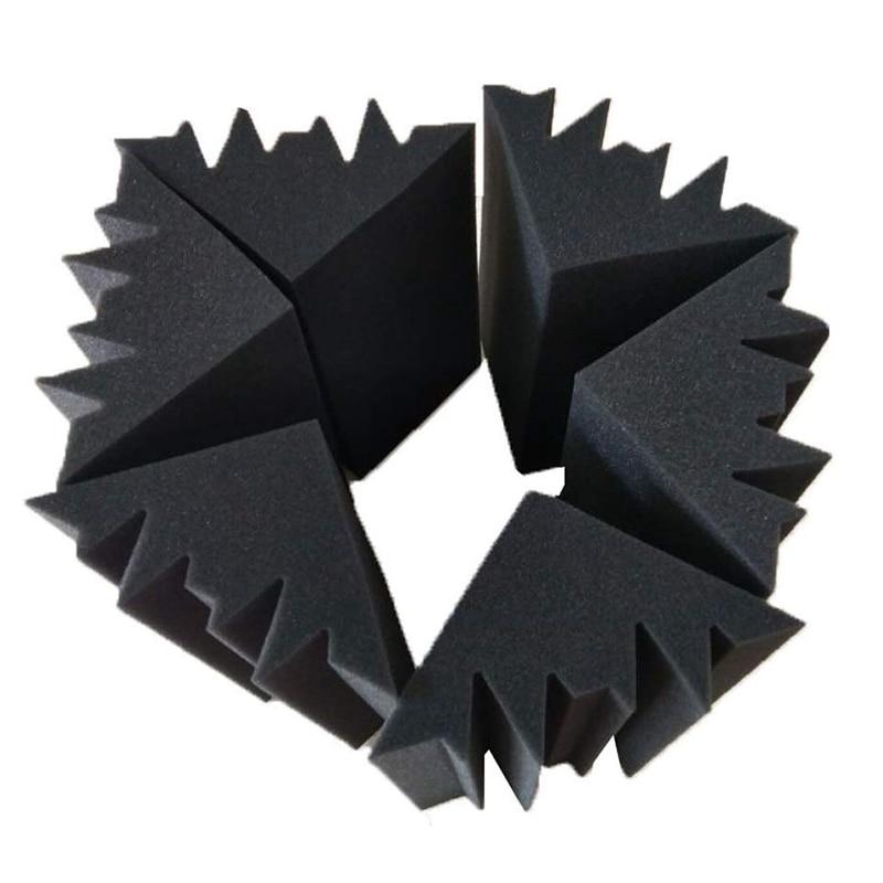 8 Pack Acoustic Panels Soundproofing Foam Acoustic Tiles Studio Foam Sound Wedges 12 X 12 X 24 Cm