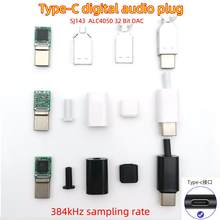 DAC decoder chip type-C to 3.5mm headphone adapter digital audio noise reduction module Sound Card connector Hifi connection amp