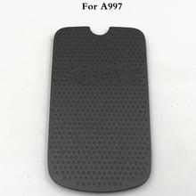 Dobra jakość nowa obudowa tylna obudowa baterii obudowa do Samsung Rugby 3 III A997 obudowa baterii tylna pokrywa tanie tanio Vecmnoday Plastikowe For Samsung Rugby 3 III A997 Galaxy s Black Battery Back Cover+Logo
