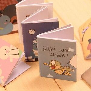 6*8cm Lovely Cartoon Image 9 Types Notebook 1piece Wholesales Kawaii Journal Diary Notebook