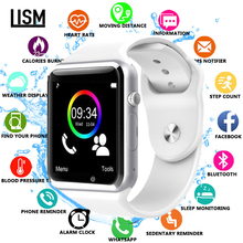 TOP SELL Bluetooth A1 Smart Watch Sports Tracker Men Women Smartwatch IP67 Waterproof A1 Watches For Android IOS PK P68 IW8 IW9 цена 2017