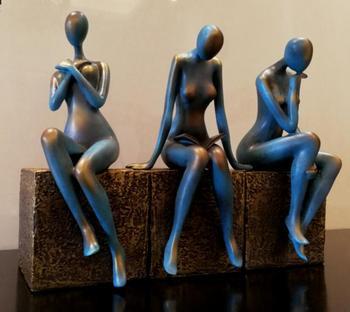 Modern Abstract Figure Beauty Resin Sculpture 1