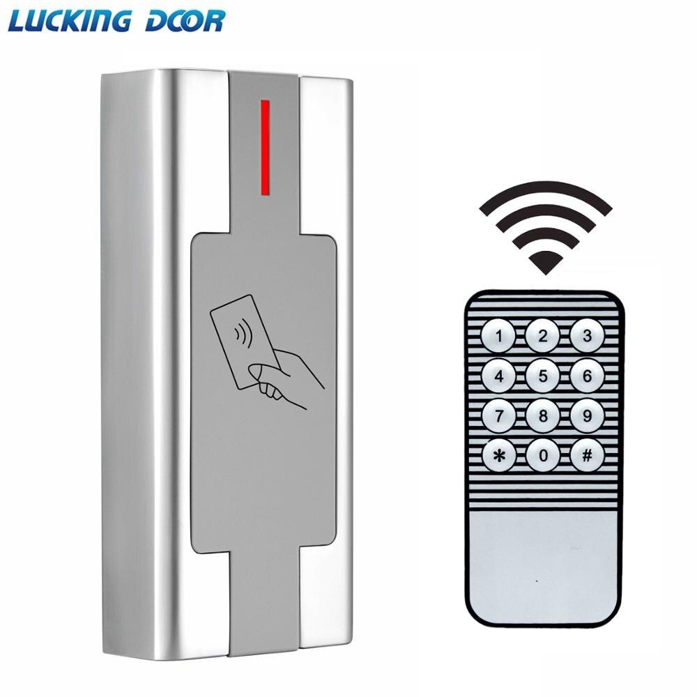 125khz RFID Metal Access Control Reader 2000 User Proximity RFID Card Reader Access Control System Waterproof IP67