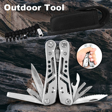 KSHIELD Multifunctional Folding Pliers Wire Stripper Pinza Camping EDC Knife Hunting Survival Tools Combination Multitool Plier outdoor multifunction knife pliers multitool multifunctional tool combination pliers multitool survival multifunctional plier