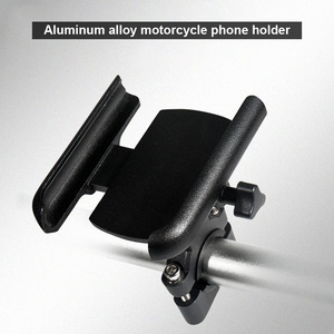 Image 4 - Vmonv Upgrade Universal Metal Chargable Motorcycle Rearview Mirror Cell Phone Holder Stand Support Handle Bike Moto Mount Holder
