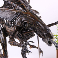 Movie Alien Figure NECA Resurrection Deluxe Alien Queen Action Figure PVC Collectible Model Toy 34cm