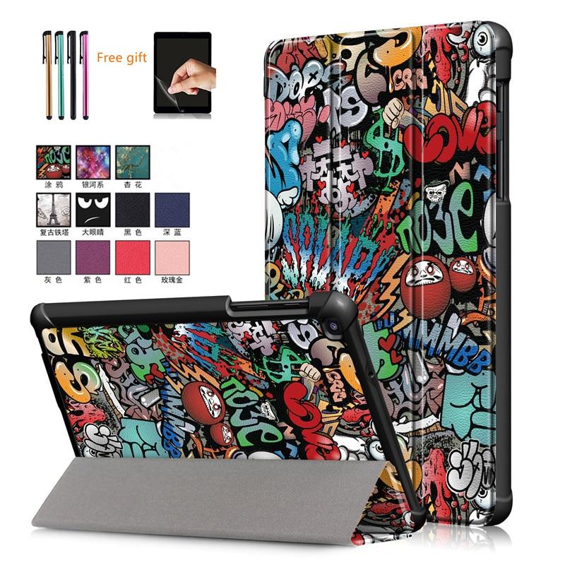 Чехол-подставка для планшета Galaxy Tab A 8,0 дюйма, 2019 дюйма, для Galaxy Tab a 8,0, 2019 дюйма, T290 (не S Pen model Tablet), подарок