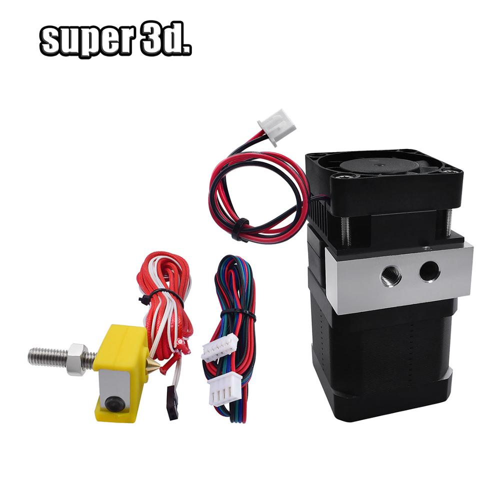 3D Printer  MK7 Extruder Feeder Update Full Kits With Stepper Motor 12V /24v 0.2/0.4/0.5mm 1.75mm Fliament For Anet A6