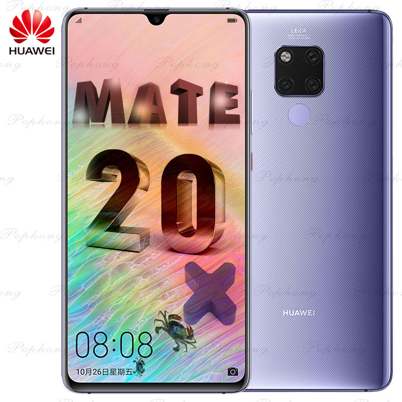 HUAWEI Mate 20 X Mate 20X смартфон 7,2 дюйма с полным экраном 2244x1080 Kirin 980 Восьмиядерный EMUI 9,0 5000 мАч 4 * Камера быстрое зарядное устройство|Смартфоны и мобильные телефоны|   | АлиЭкспресс