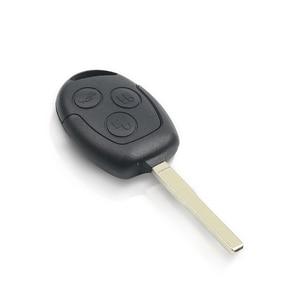Image 2 - KEYYOU لفورد فوكس فيوجن مونديو فييستا غالاكسي 4D60/4D63 رقاقة مع FO21 شفرة 3 زر 433Mhz مفتاح السيارة عن بعد