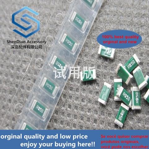 50pcs 100% Orginal New SMD Alloy Resistor 1206 R050 0.05R 1% 1 --- 2W RL1632H-R050-FN